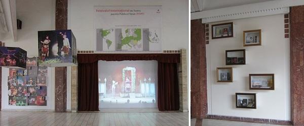 expo foyer cu videoproiectie