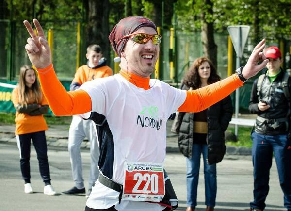Alex la Maratonul Clujului 2014