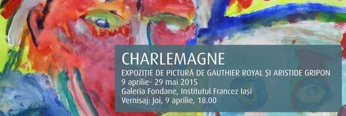 expozitie de pictura charlemagne afis