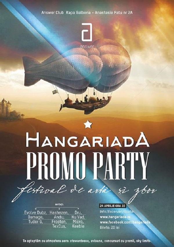 hangariada promo party