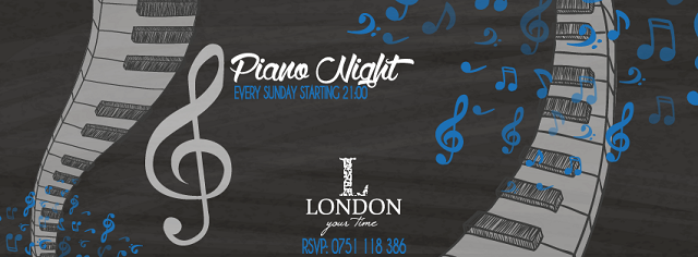 piano night-london