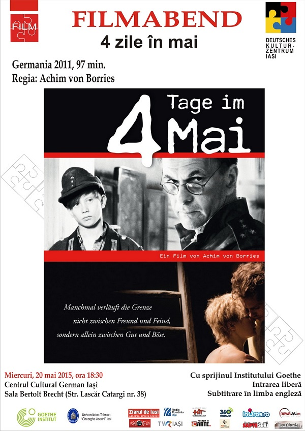 seara de film german Afis - 4Tage im Mai iasi 2015