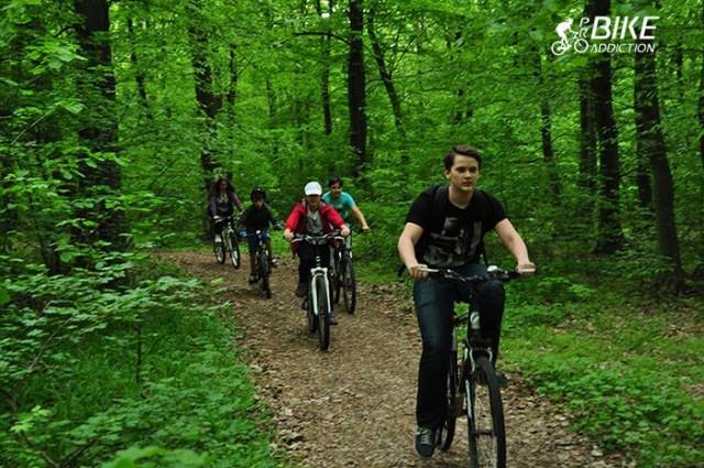 padurea uricani-cicloturism