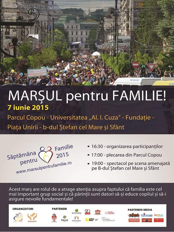 marsul pentru familie