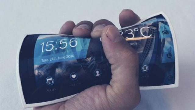 Smartphone-ul-flexibil