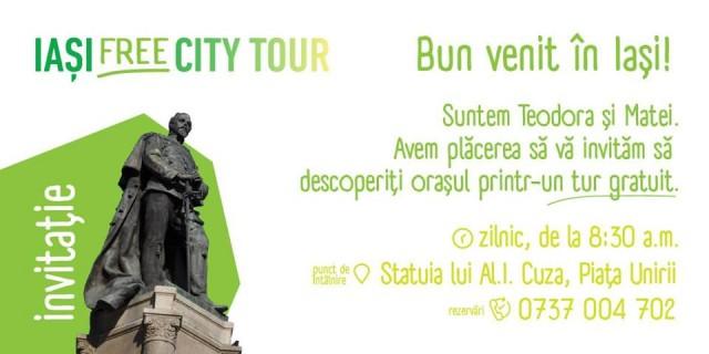 iasi free city tour