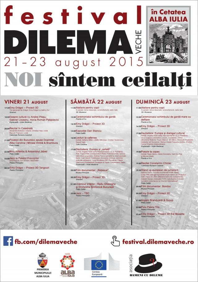 program festival Dilema veche 2015