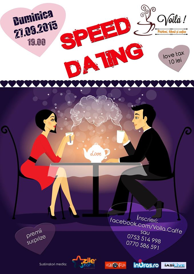 speed dating cine a fost Speed dating for sporty professionals causeway bay (private party) rachael & smith is known for its tailor-made premium matchmaking services with high success rates.