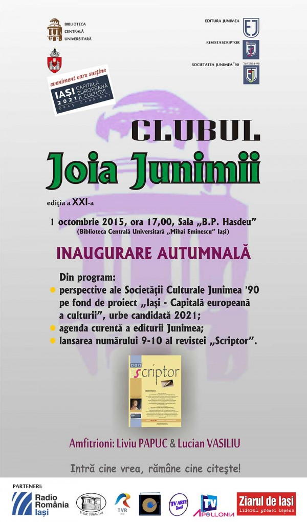 CLUBUL Joia Junimii 1oct-2015