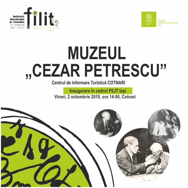 "Inaugurare-Muzeu-""Cezar-Petrescu"""