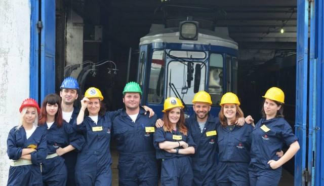 echipa tramvaiul literaturii