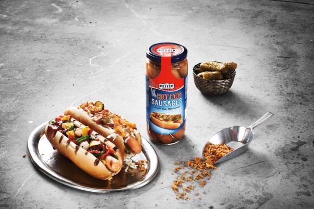 Crenvursti hot dog