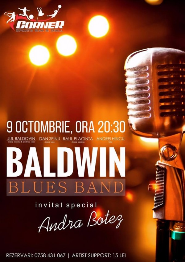 baldwin blues band-corner