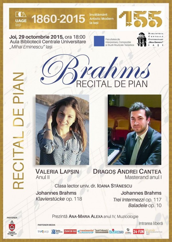 brahms recital pian
