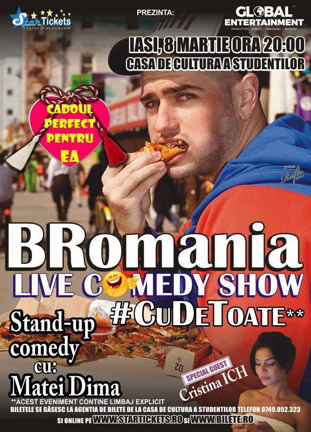 bromania-stand up