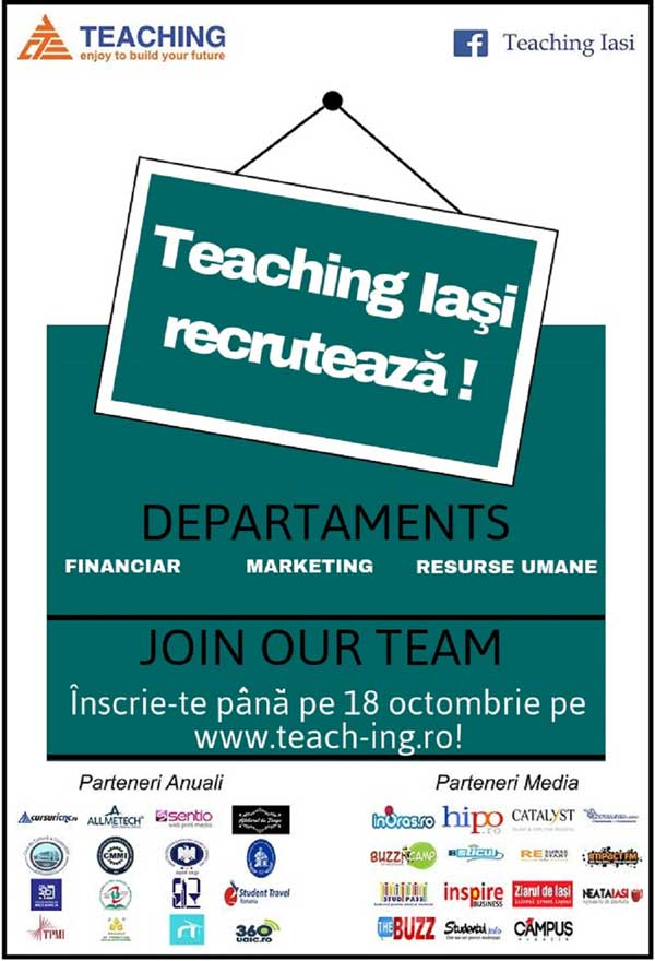 teaching recrutari