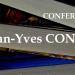 Roumanie, capitale… Paris. Conferinta JEAN-YVES CONRAD la Institutul Francez Iasi