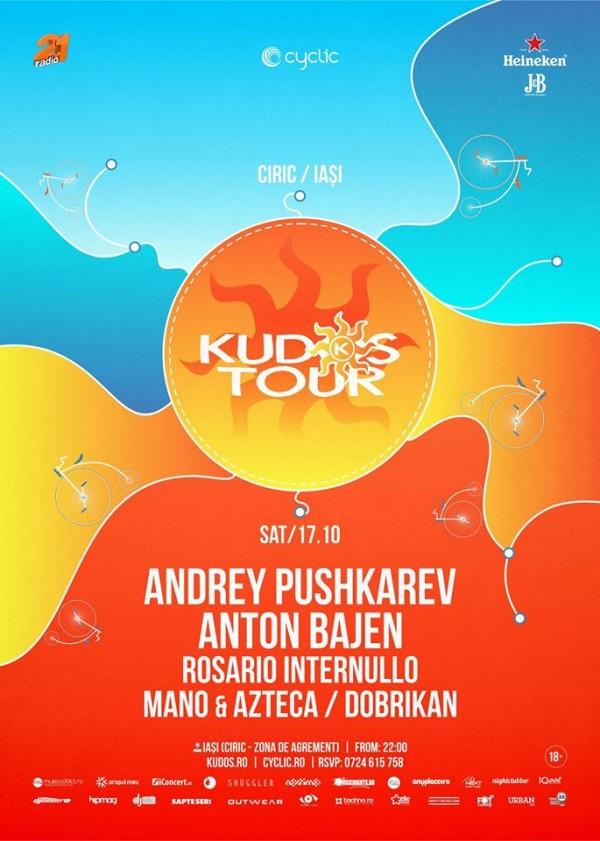 kudos tour octombrie 2015