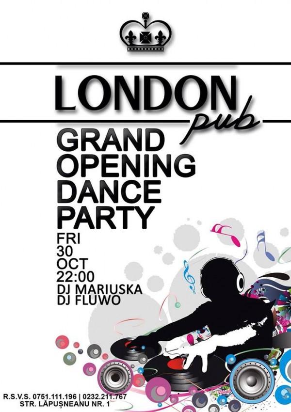 opening-london pub