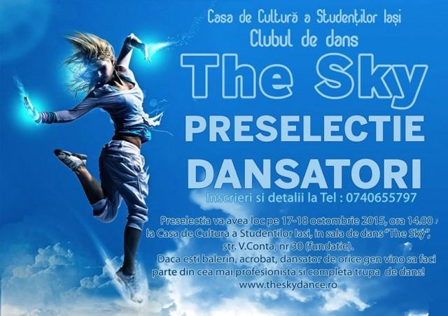 the sky-preselectie