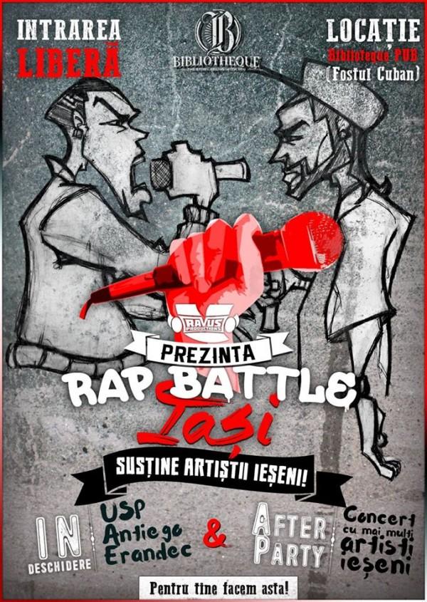 rap battle iasi