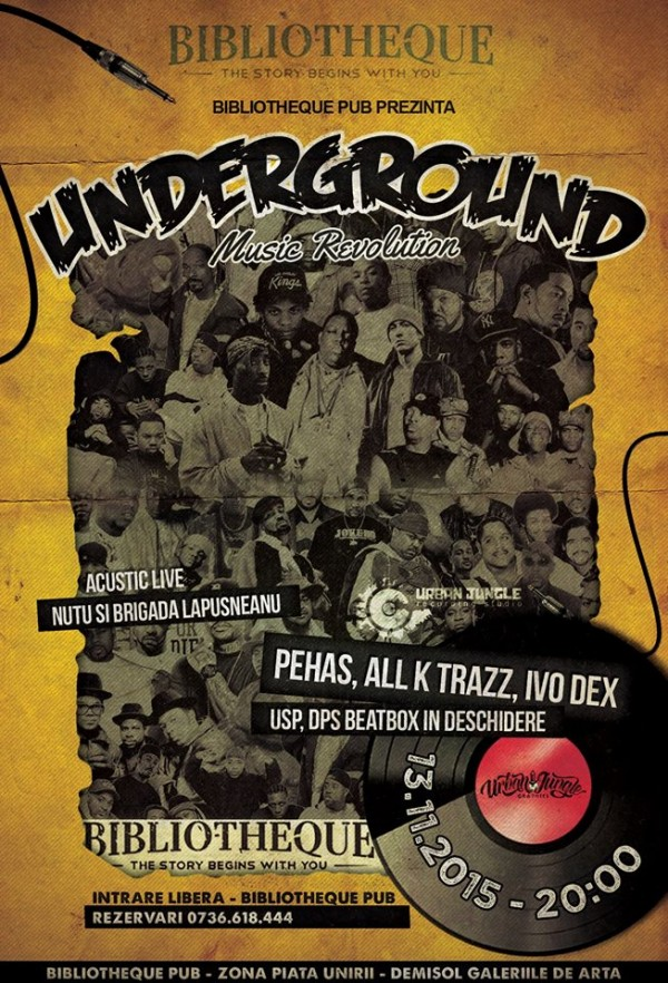underground music revolution