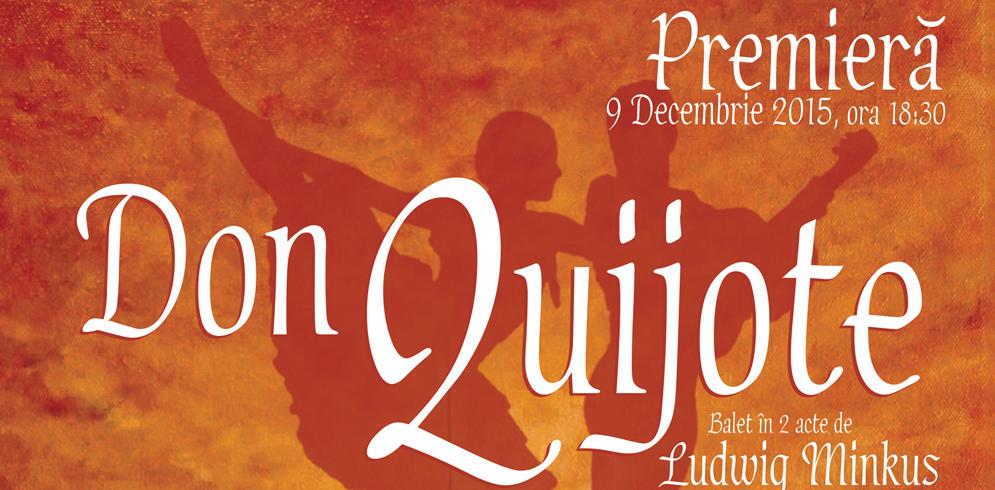 """Don Quijote"" la Opera Nationala Romana Iasi"