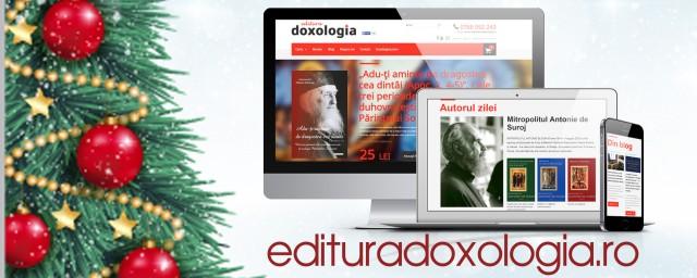 Editura Doxologia va asteapta pe noul site