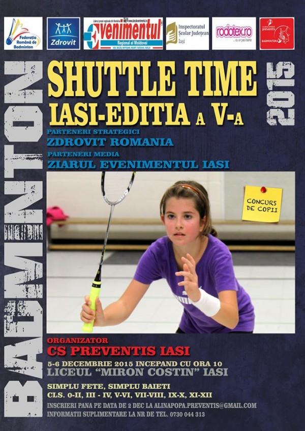 badminton copii