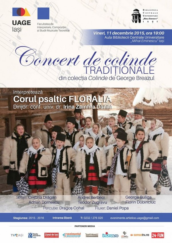 concert colinde - corul Floralia