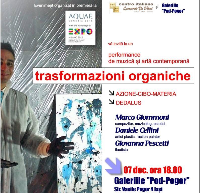 transformazioni organiche