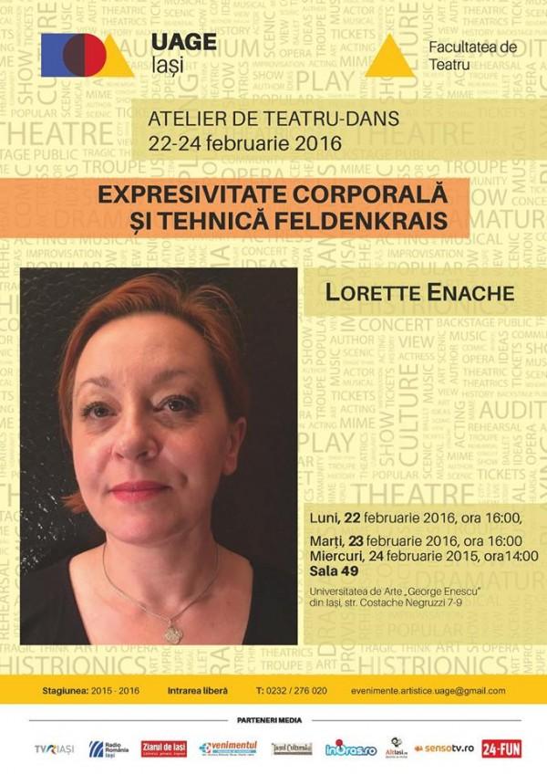 atelier teatru dans uage