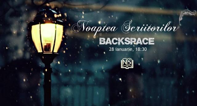 noaptea scriitorilor backspace