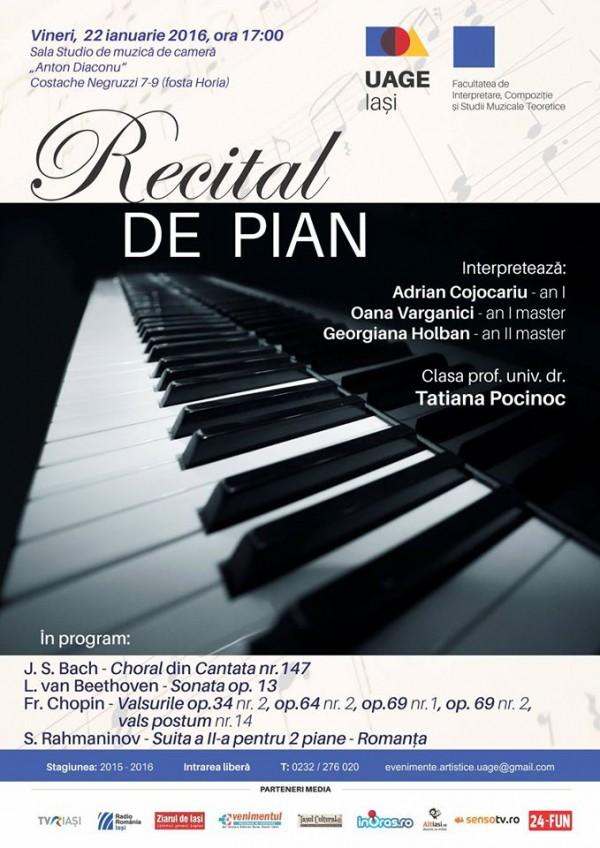 recital pian uage