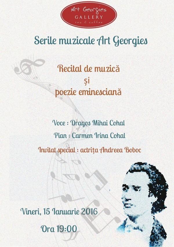 seara muzicala georgies