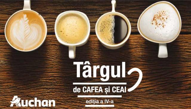 targ cafea ceai auchan