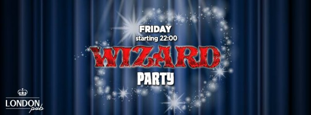 wizard party-london