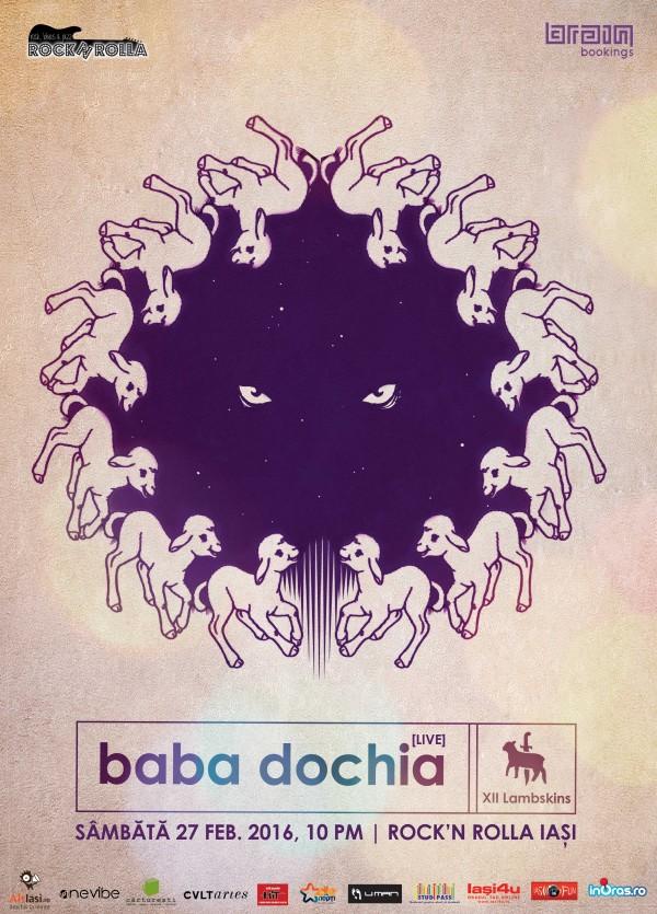 Baba-Dochia-@-R'n'R-Iasi-poster