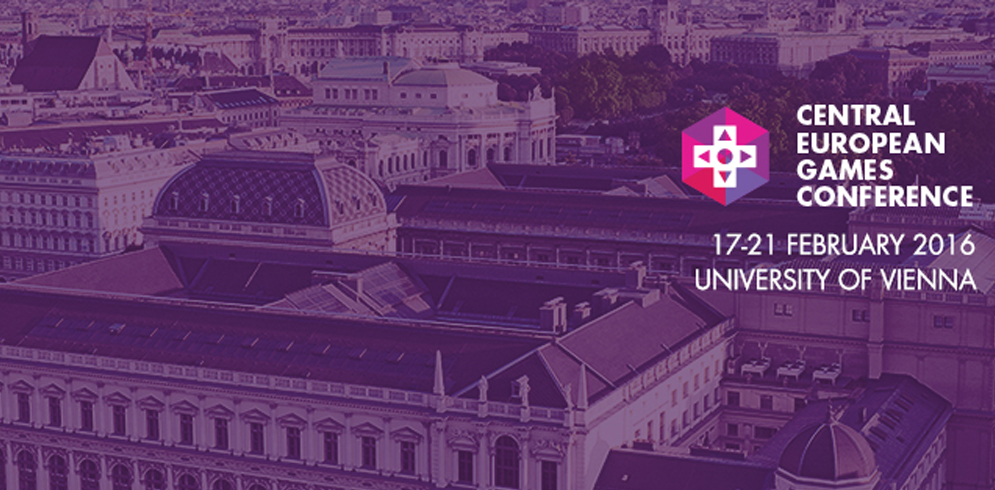 Central European Games Conference la Universitatea din Viena