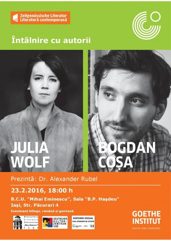 Julia Wolf si Bogdan Cosa - BCU Iasi