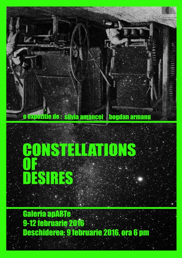 Silvia Amancei - Bogdan Armanu - Constellations of Desires