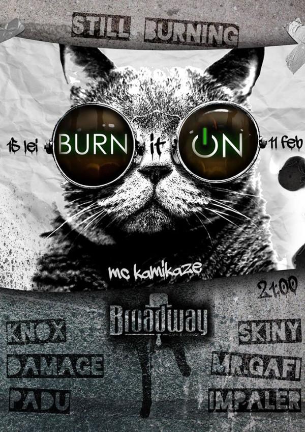 burn it on IV