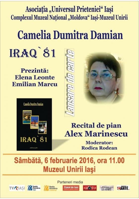 iraq 81 lansare carte