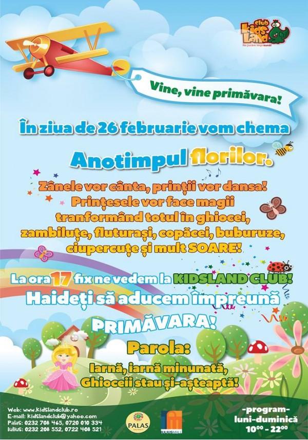 kidsland 26 februarie