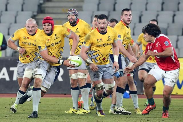 Meciul de rugby Romania - Portugalia din Cupa Nationala a Natiunilor, disputat la Cluj-Napoca, sambata, 6 februarie 2016.
