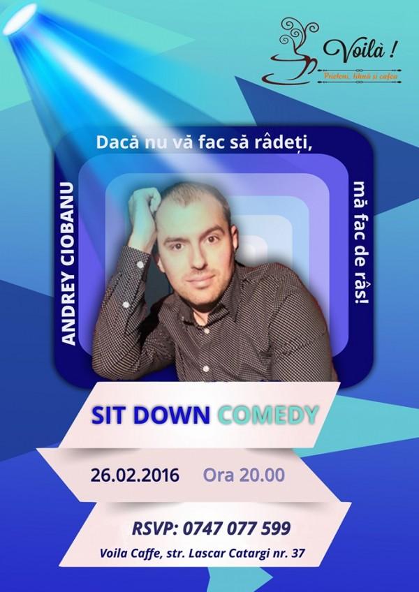 sitdown comedy voila