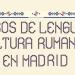 Curs gratuit de conversaţie în limba română la ICR Madrid