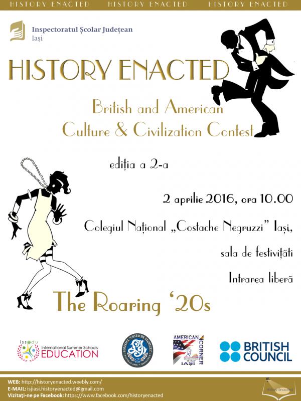 Afis HISTORY ENACTED 2016