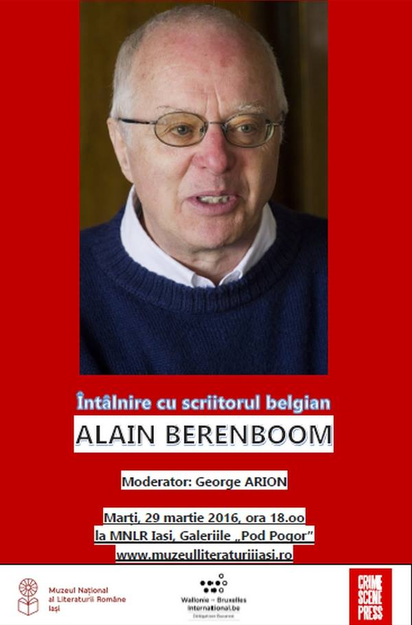 Alain B. la Iasi
