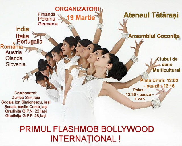 flashmob bollywood international